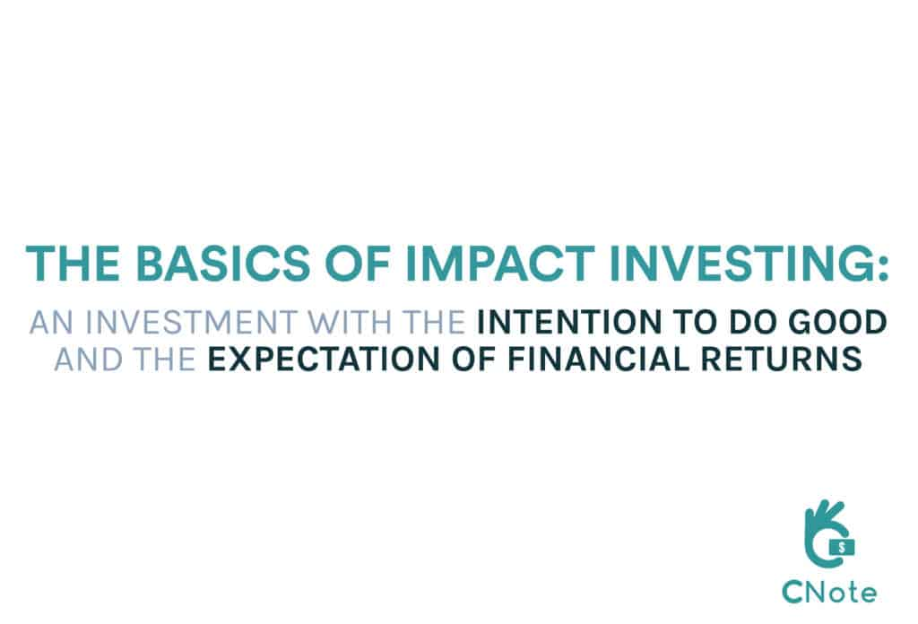 The core components of impact investing